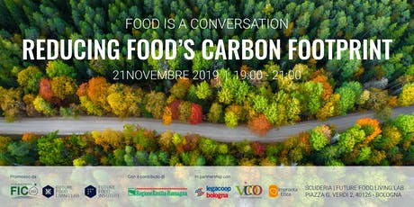 Food is a conversation: Reducing food's carbon footprint biglietti