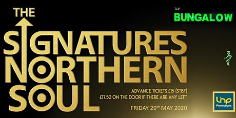 The Signatures Northern Soul in Paisley tickets