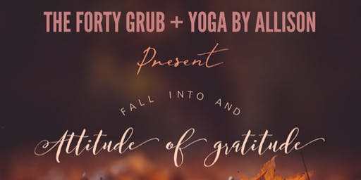 Fall into an Attitude of Gratitude: A curated creative wellness event