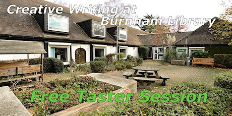 Free Taster Session - Creative Writing at Burnham Library tickets