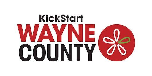 KickStart Wayne County Live Pitch Competition
