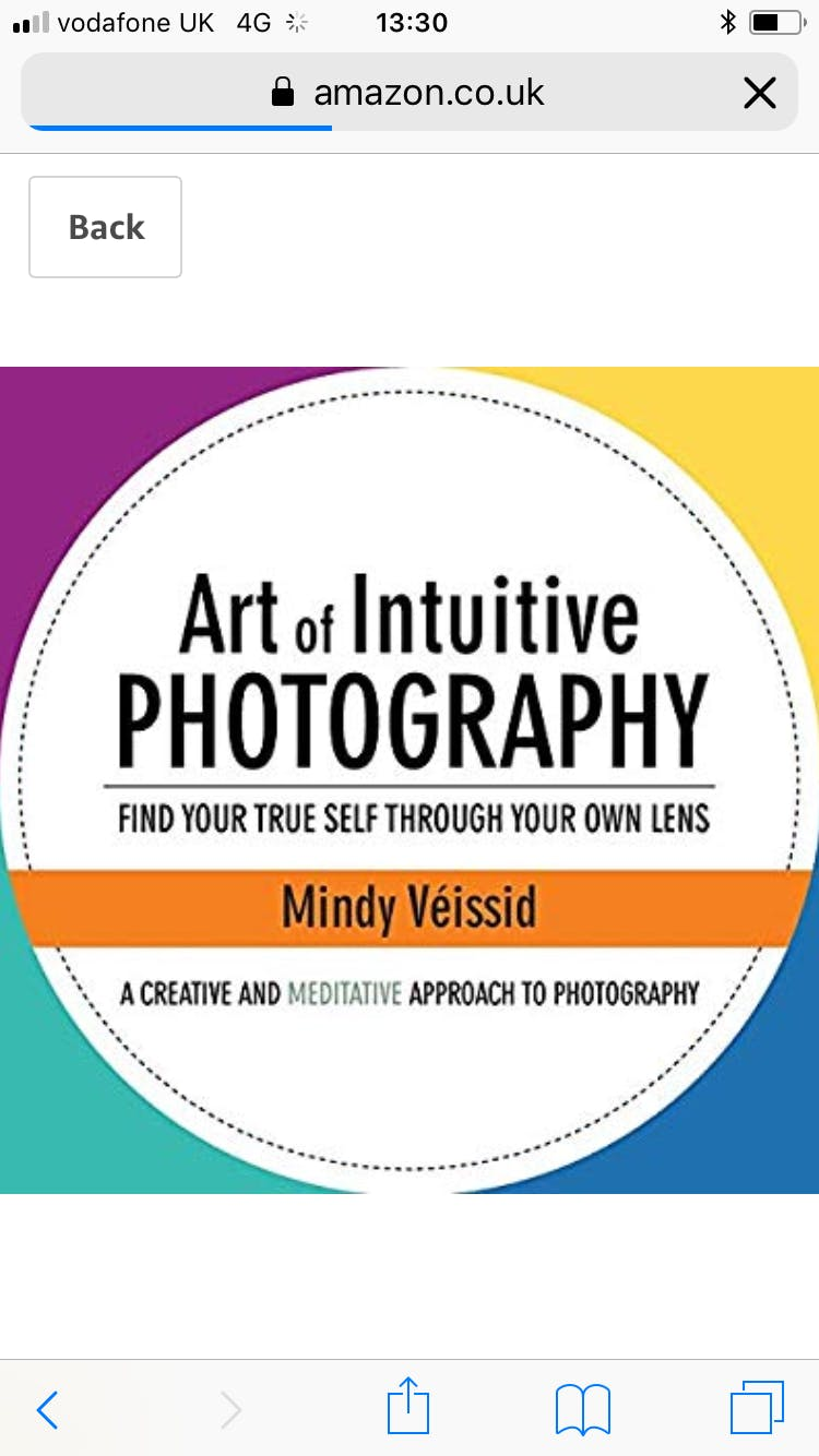 The Art of Intuitive Photography Workshop London
