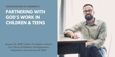 An Evening with Jared Patrick Boyd -Spiritual Formation of Children & Teens