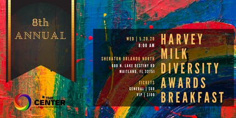 8th Annual Harvey Milk Diversity Awards Breakfast by The Center tickets