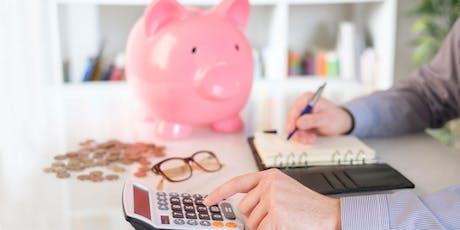 Finanças Pessoais (Braga) bilhetes
