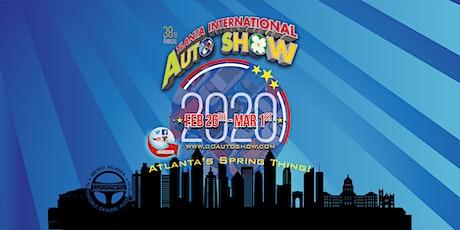 38th Annual Atlanta International Auto Show tickets