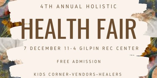 4th Annual Holistic Health Fair