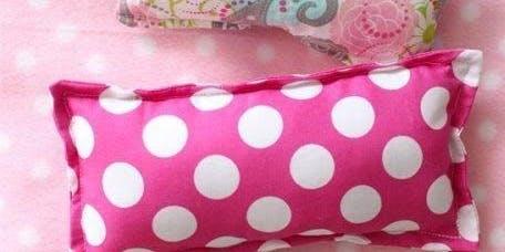 Black Friday Kids-Sew a Mini-stuffed Pillow w/Scarlett