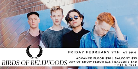 Birds of Bellwoods tickets