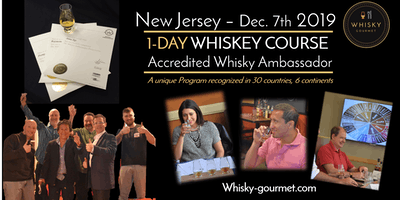 Whiskey - Want to Become Knowledgeable & certified? One-day course