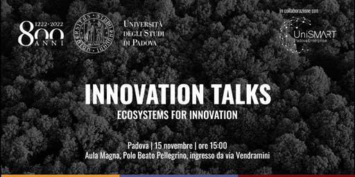 Innovation Talks | Ecosystems for Innovation