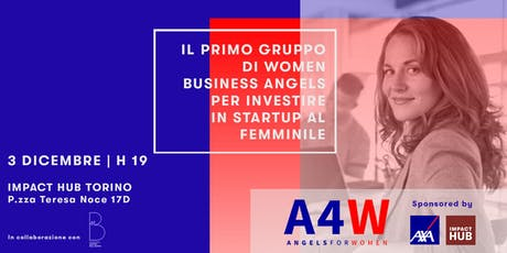 Angels4Women | Il gruppo di women business angels arriva a Torino biglietti