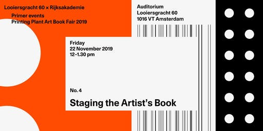 Staging the Artist's Book - Printing Plant Art Book Fair