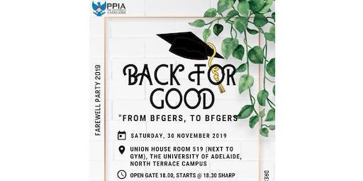 Back for Good PPIA UofA 2019