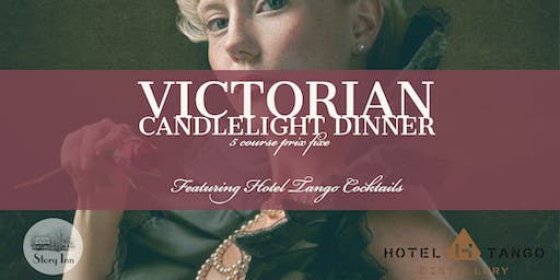 Victorian Candlelight Dinner with Hotel Tango