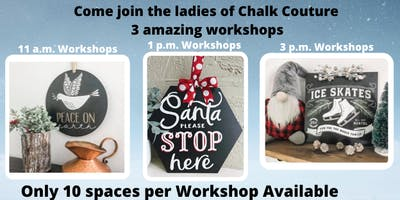 $25 Chalk Couture Workshop