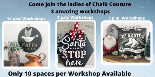 $25 Chalk Couture Workshop
