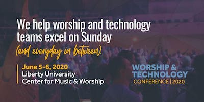 Worship & Technology Conference 2020