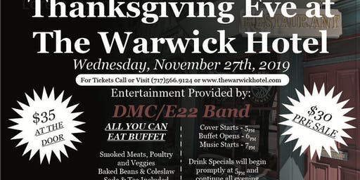 Thanksgiving Eve at the Warwick Hotel