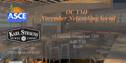 ASCE OC YMF - November Networking Social