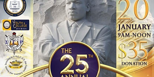 CCNAACP 25th Annual Rev. Dr. Martin Luther King, Jr. Prayer Breakfast