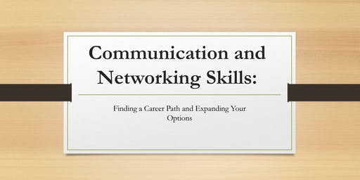 Communication and Networking Workshop for Postdocs!