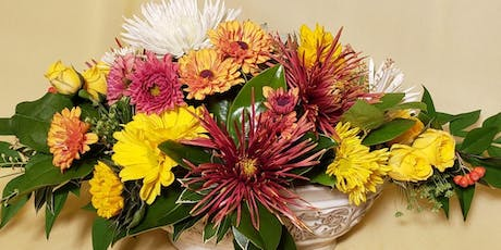 Floral Centerpieces for your Thanksgiving Feast! tickets