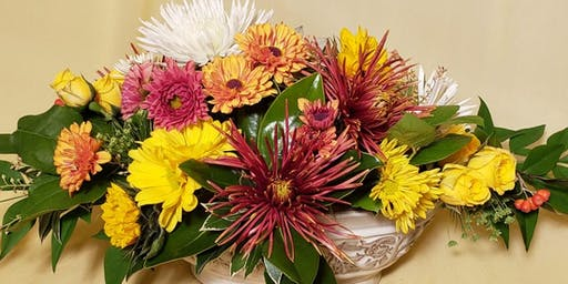 Floral Centerpieces for your Thanksgiving Feast!