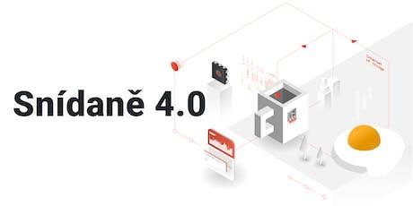 Snídaně 4.0 Praha - inspirace ze světa internetu věcí, průmyslu 4.0, dig... tickets
