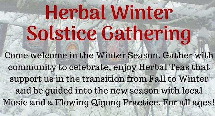 Herbal Winter Solstice Gathering at Present Gift Shop image