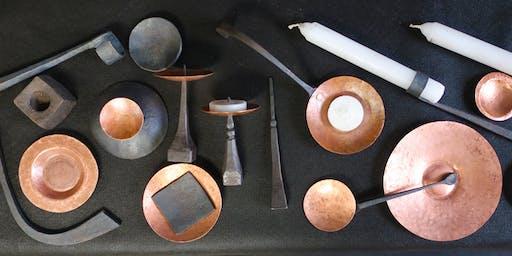 Forged Candleholder Workshop