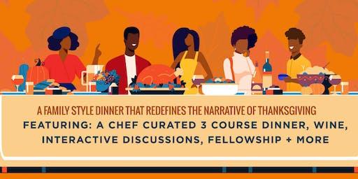Friendsgiving Family Dinner