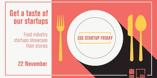 CSE StartUp Friday: Get a taste of our startups