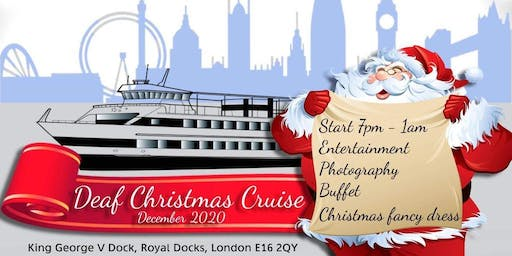 Deaf Xmas Boat Party 2020