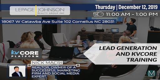 AGENT TRAINING:  Lead Generation & KV Core with Nick Macri