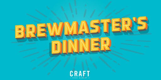 Brewmaster's Dinner with Slackwater Brewing Co.