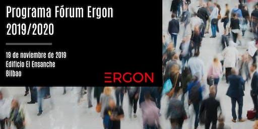 Programa Fórum Ergon 2019/2020