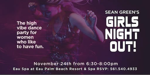 Sean Green's Girls Night Out at Eau Spa