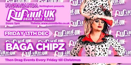 RUPAUL'S DRAG RACE UK STARS - BAGA CHIPZ tickets