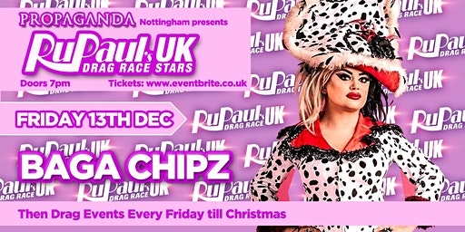 RUPAUL'S DRAG RACE UK STARS - BAGA CHIPZ