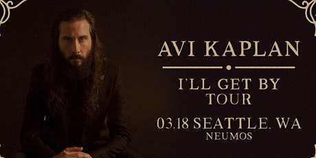 Avi Kaplan with Paper Wings tickets