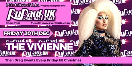 RUPAUL'S DRAG RACE UK STARS - THE VIVIENNE tickets