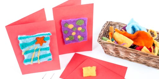 Felt the Love: Create Felted Greetings Cards Workshop