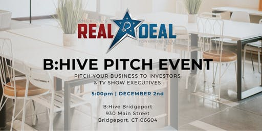 B:Hive Coworking & America's Real Deal Pitch Event