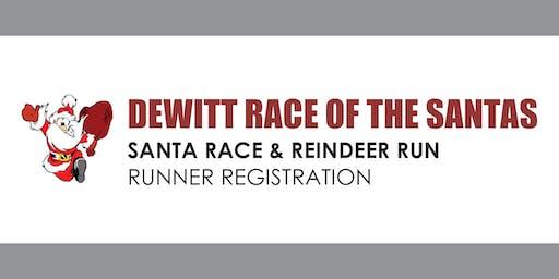 2019 Dewitt Santa Run