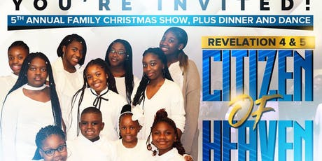 5th Annual Family Christmas Show, Plus Dinner and Dance tickets