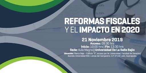 Reformas Fiscales y el Impacto en 2020
