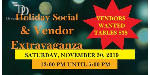 Small Business Saturday Vendor Table Purchase