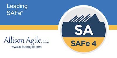 GUARANTEED TO RUN SAFe 4.6 Leading SAFe - Dallas, TX (May 11/12)