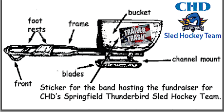 2nd Annual Thunderbirds Sled Hockey Fundraiser with the Trailer Trash Band tickets
